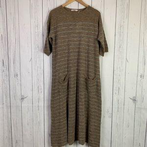 Mes Demoiselles Paris | alpaca wool maxi dress NWT